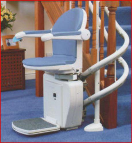 Sterling 2000 Curved Stairlift