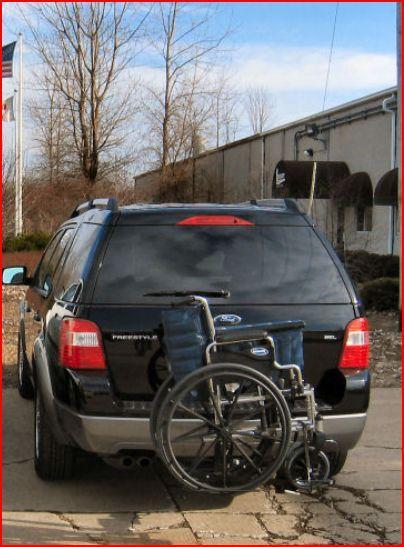 Wheelchair Carrier Tilt n Tote