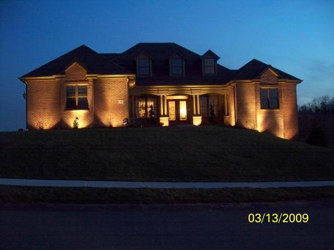 Uplighting On Home
