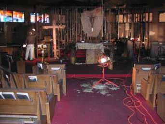 Church before FireDex
