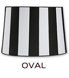 Oval Lamp Shades