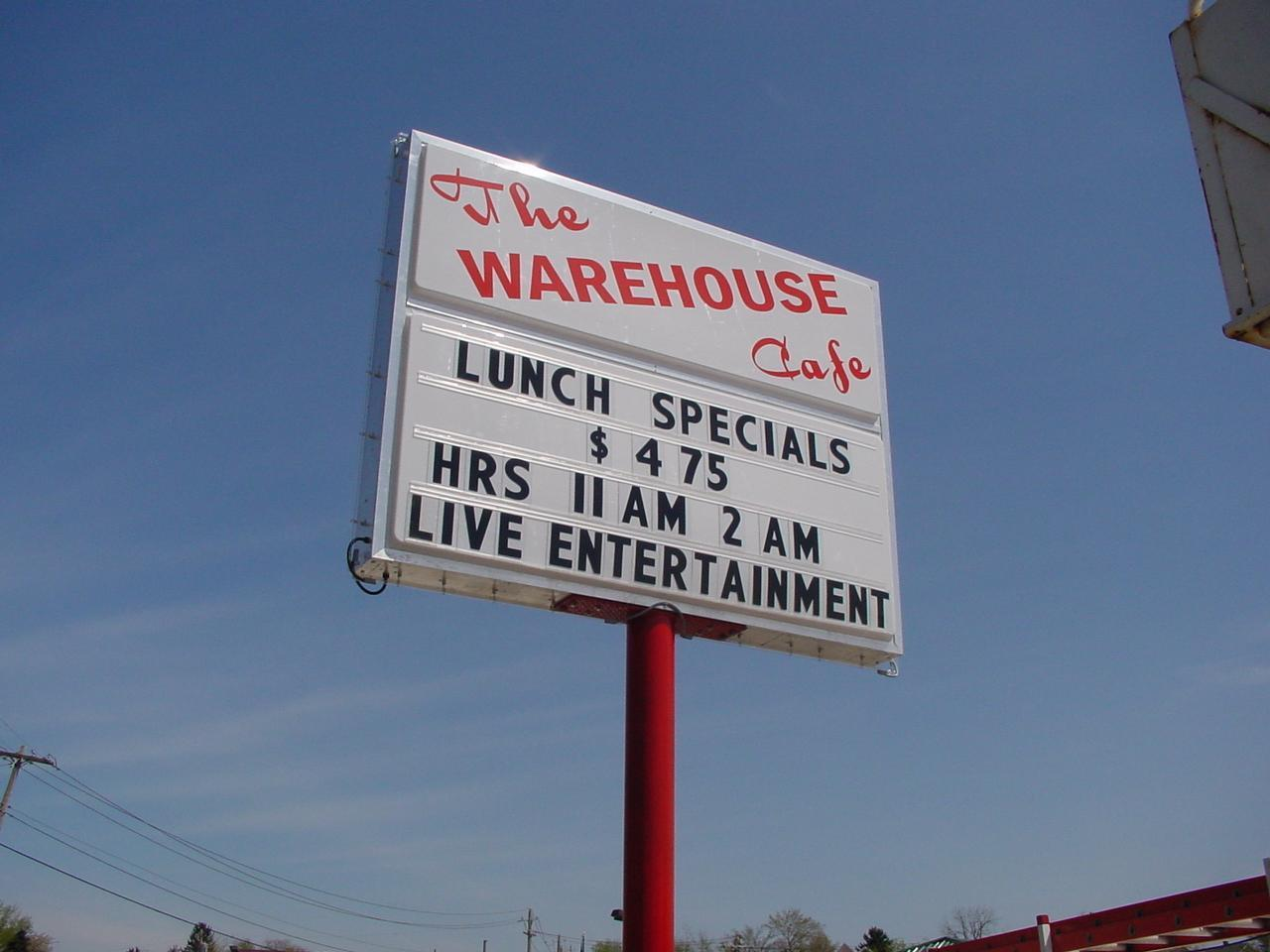 The Warehouse Cafe
