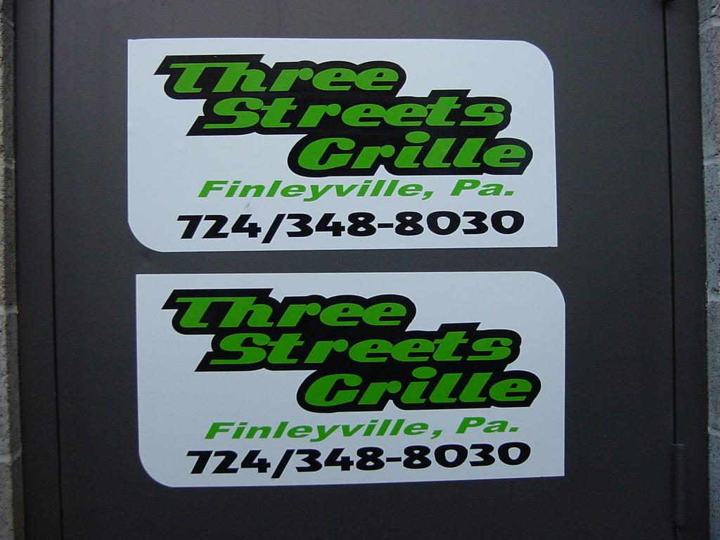 3 STREETS GRILLE