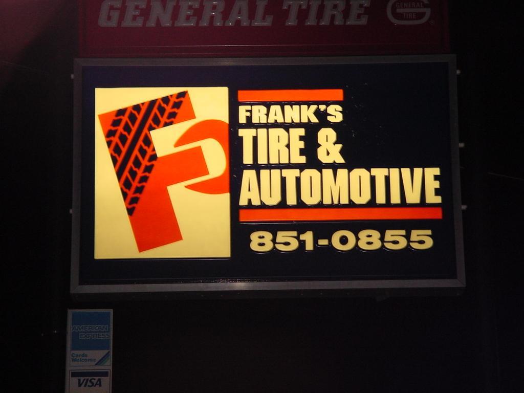 FRANK'S TIRE & AUTOMOTIVE