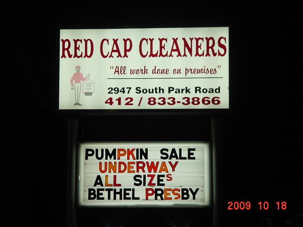 RED CAP CLEANERS