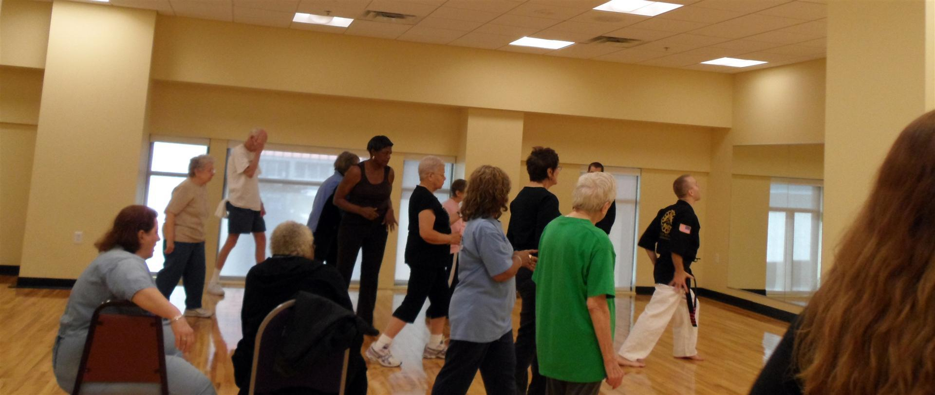 PNC YMCA Senior Kenpo Class