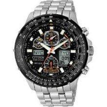 Titanium Skyhawk Atomic Watch