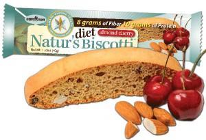 Naturs Diet Biscotti Almond Cherry