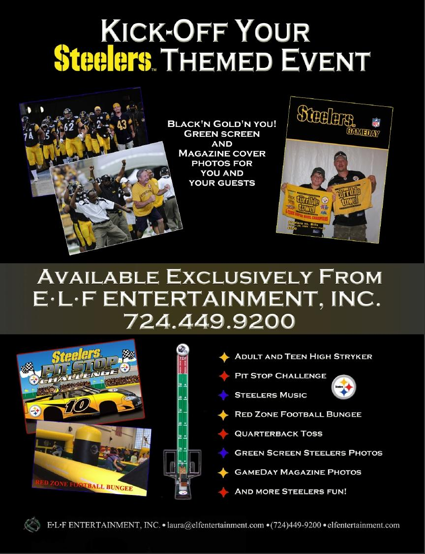 Pittsburgh Steelers™ Themed Events