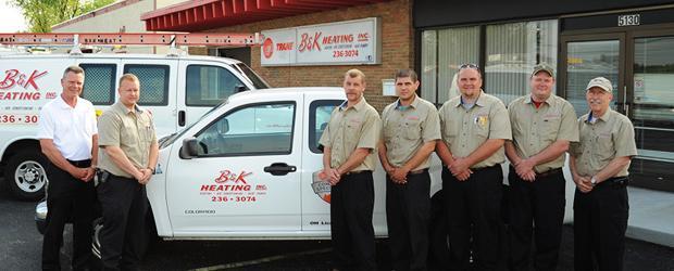B&K Heating Staff