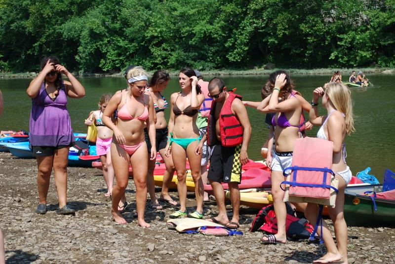 Summertime Fun at Yough Canoe Outfitters