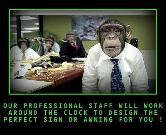 Professional design staff...