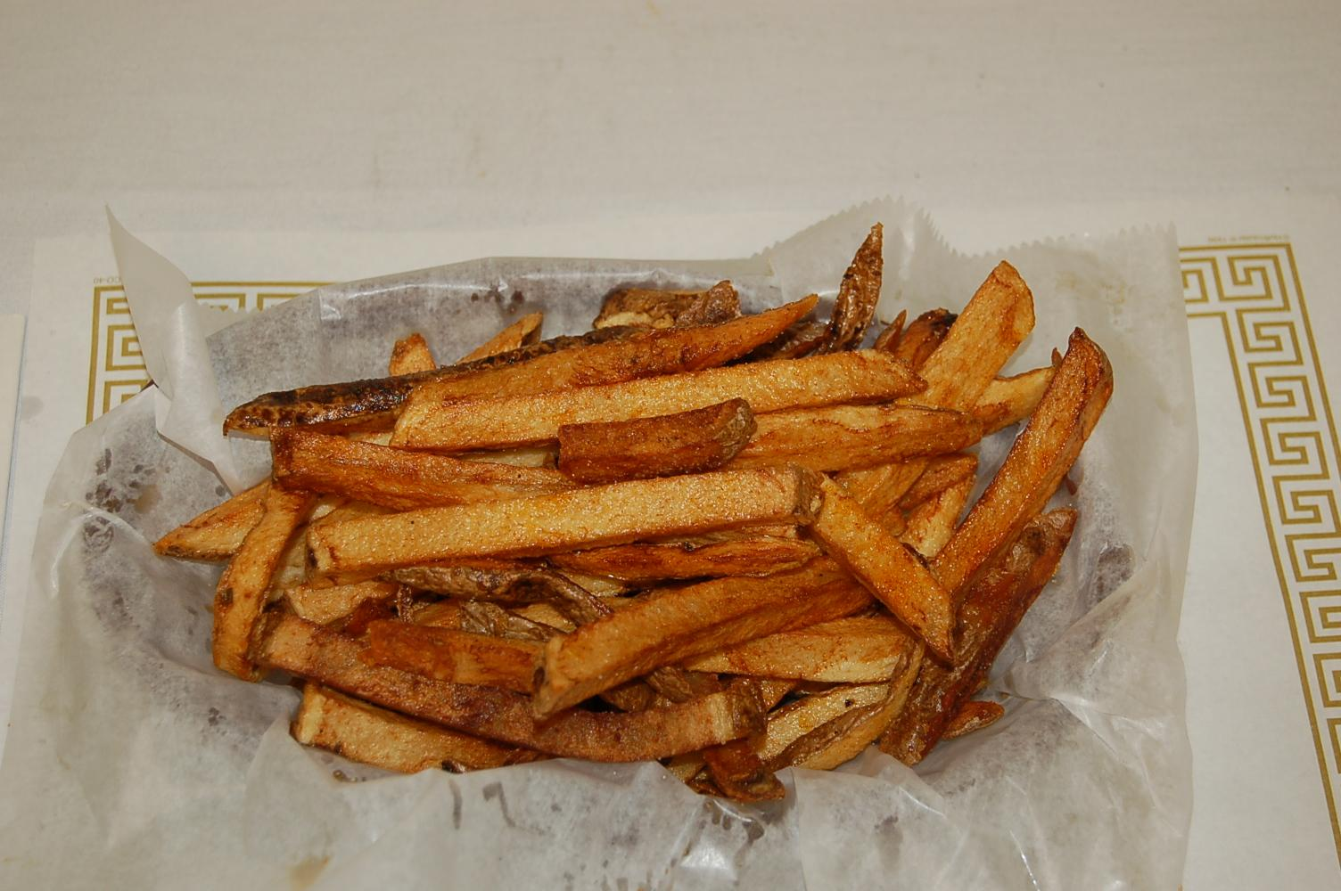 Fresh Cut Fries Dusted with our special blend of house spices.