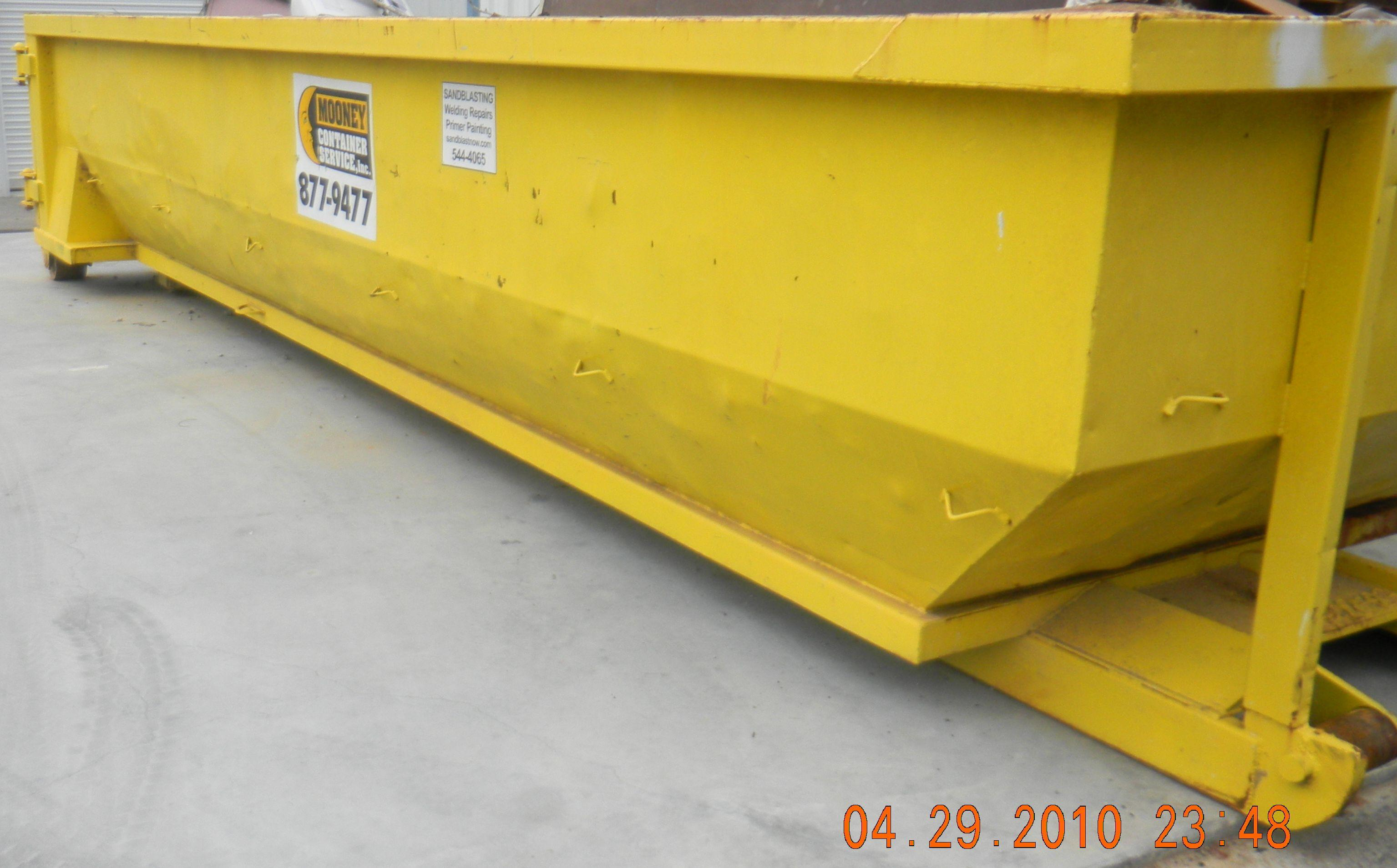 Affordable Dumpster from Mooney Containers!
