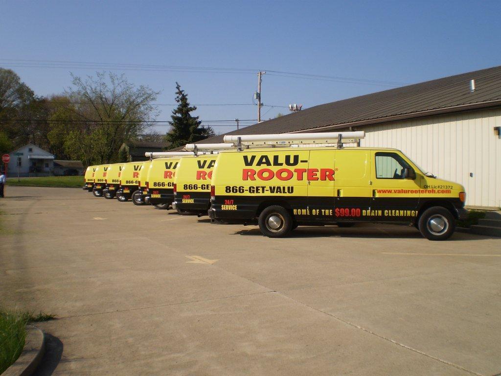 Valu Rooter Fleet Your Personal Plumber!