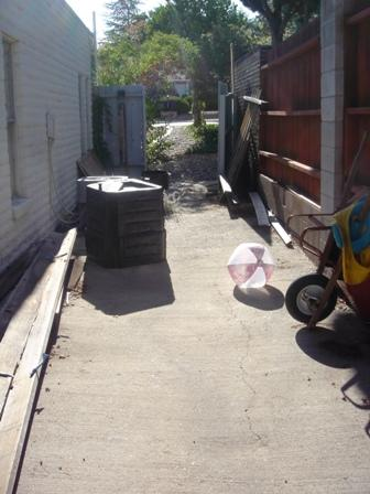 Side Yard Clean Up before 24/7 Haul  Junk Removal