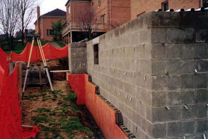 French Drain by Champlain Construction Pittsburgh