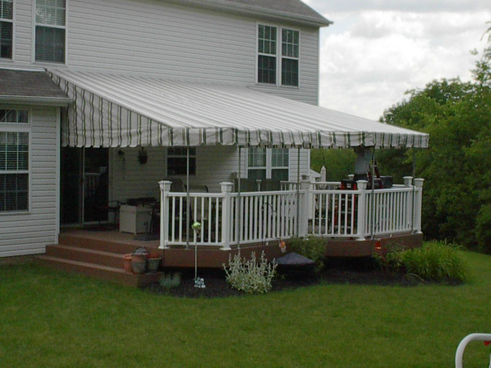 Canvas Awnings for Your Home
