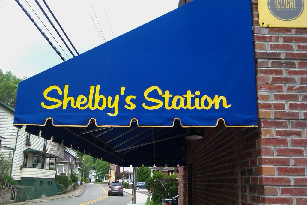Shelby's Station Bridgeville Awning