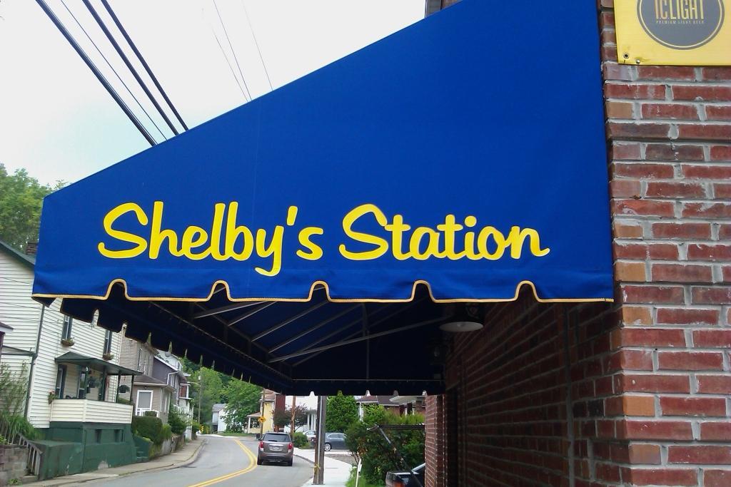 Shelby's Station Bridgeville Awning