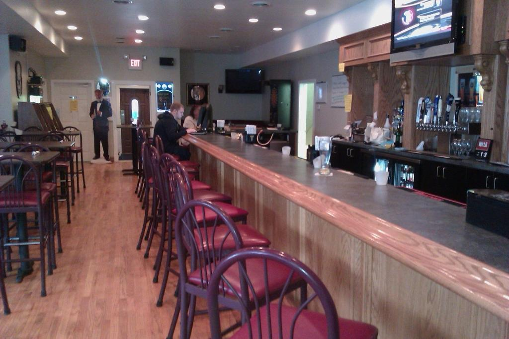 Shelby's Station Bar Seating