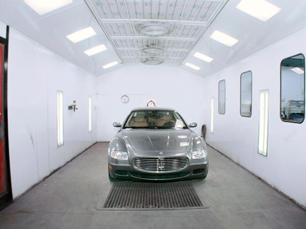 Auto Body Repair Paint Booth