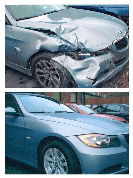 BMW Approved Auto Body Repair Center