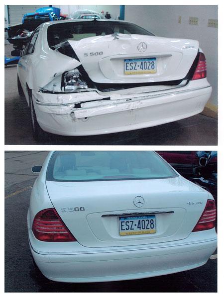 Certified Mercedes-Benz Auto Body Repair