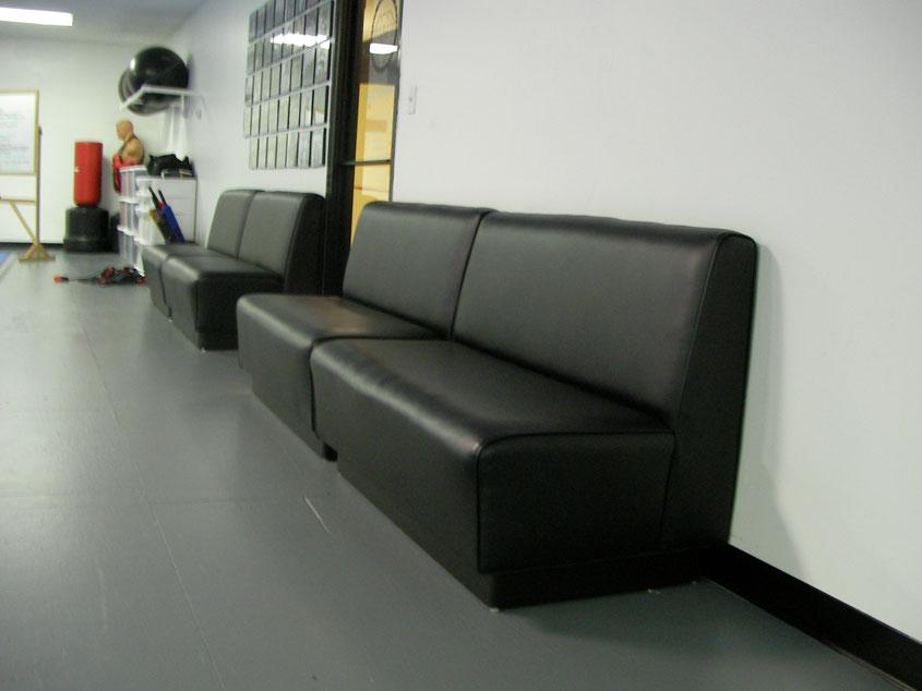 High-backed Waiting Area Bench