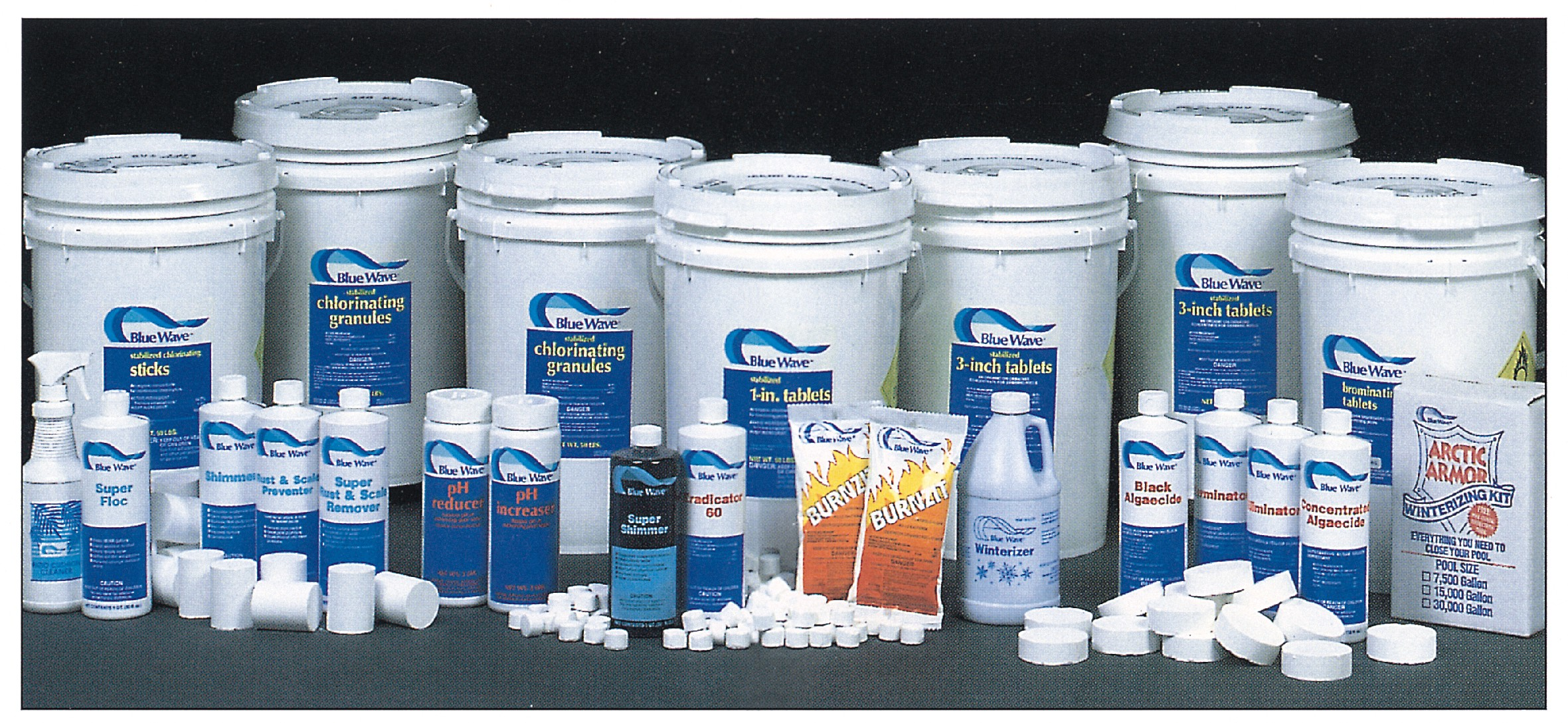 Pool and Spa Chemicals