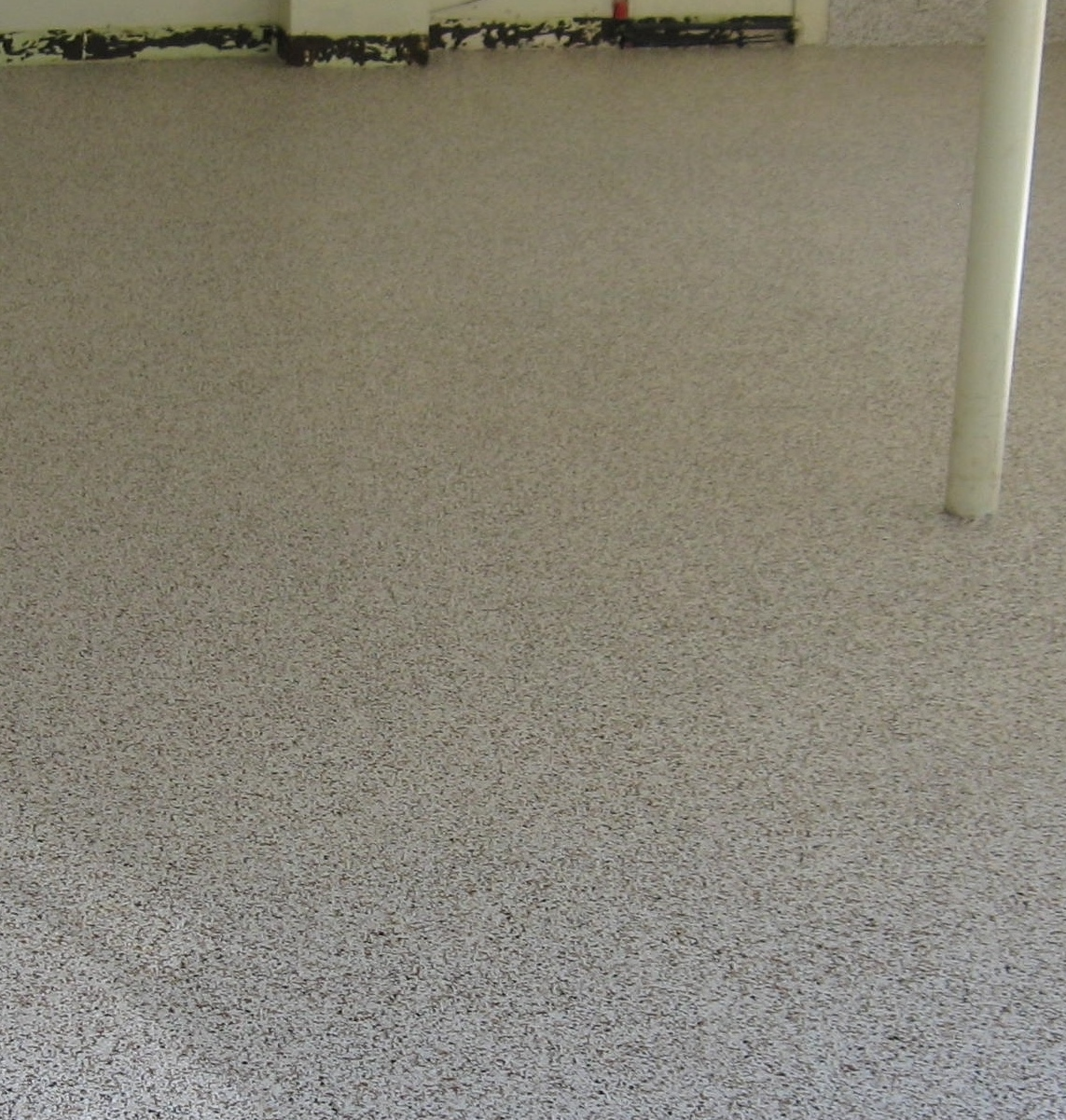 Garage Floor After Picture.
