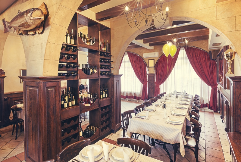 Google Tour Restaurant View