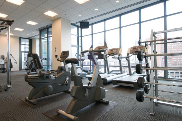 Google Tours Inside Gym