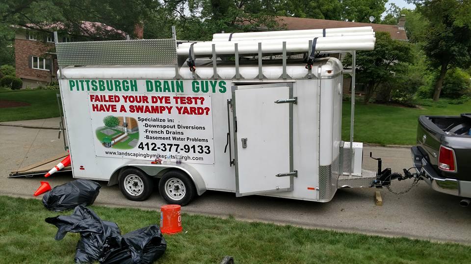 pittsburgh drain guys trailer