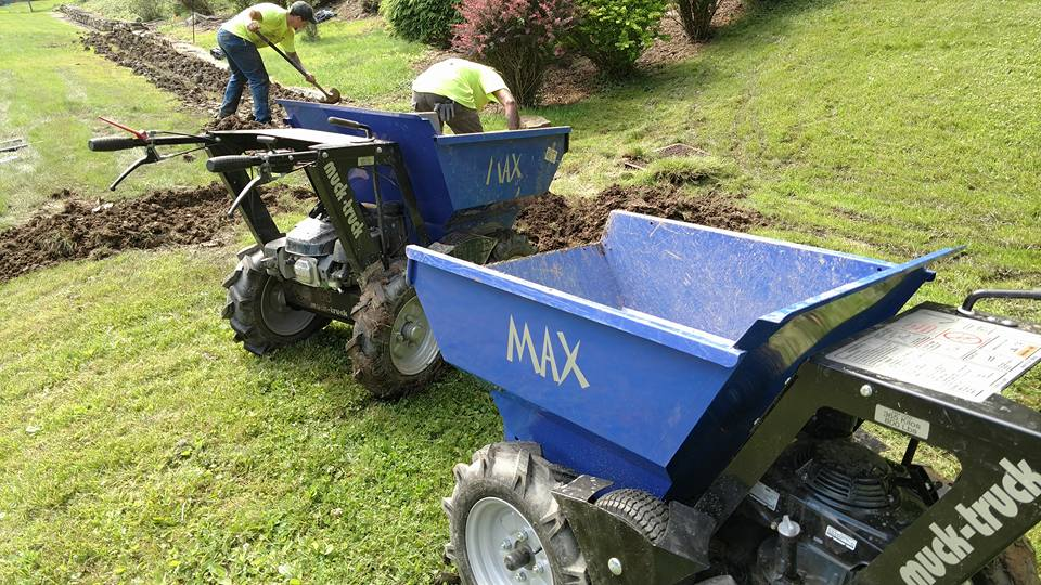 French Drain Contractors Installing Drain Pittsburgh
