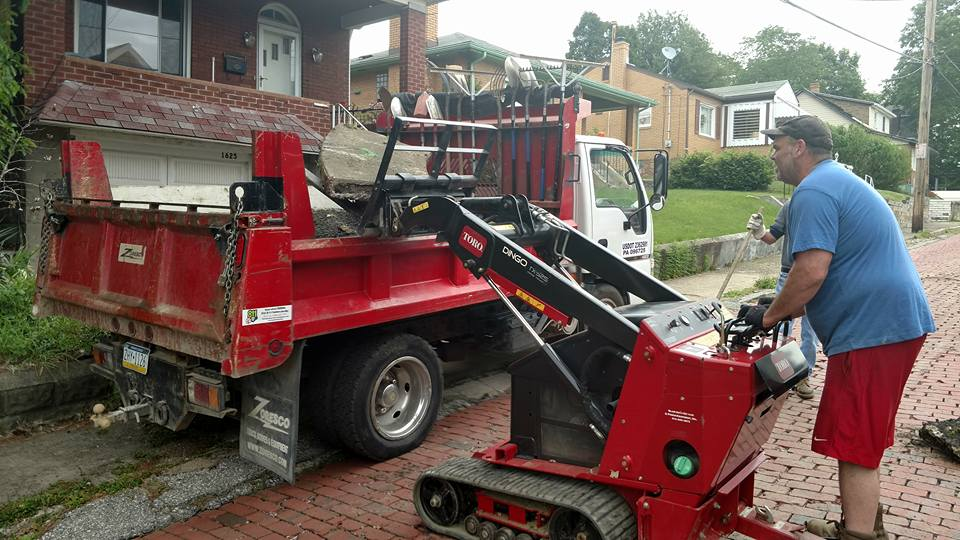 Installing a French Drain Pittsburgh
