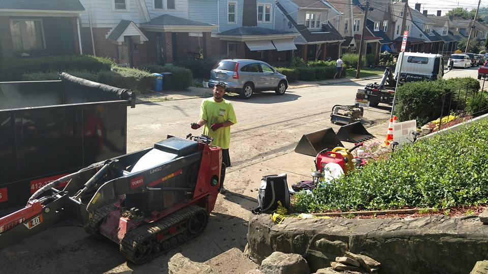 Retaining Wall Contractors Pittsburgh