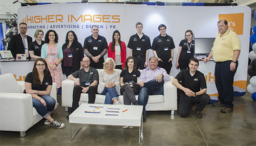 Higher Images Booth