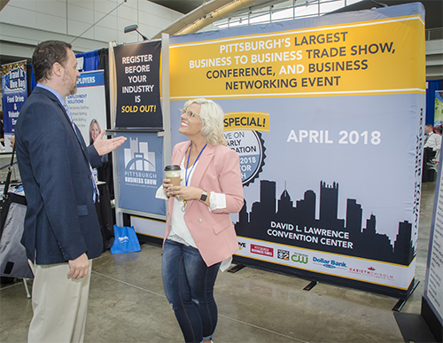 Pittsburgh Business Show Booth