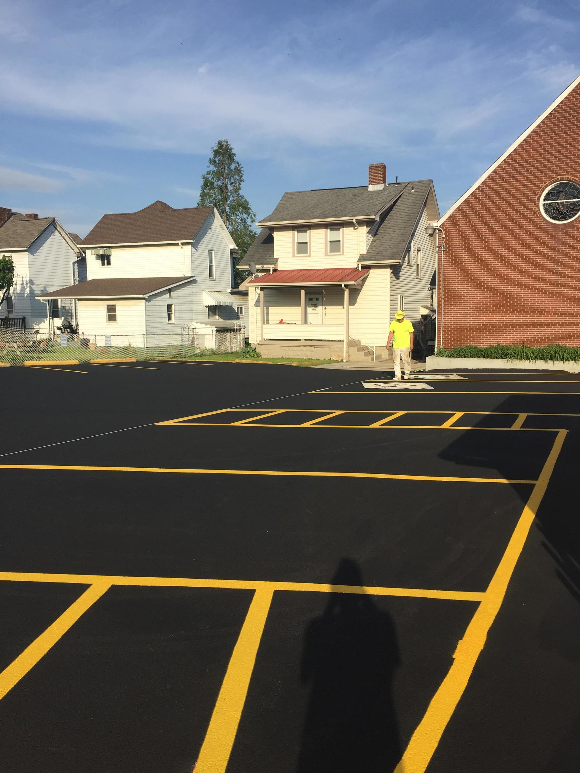 Parking Lot Sealing Services