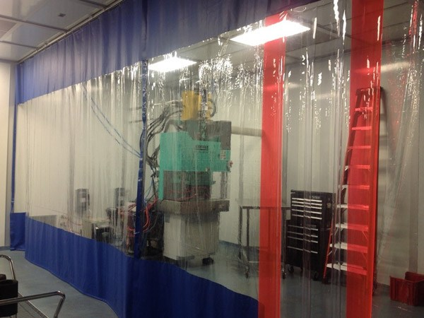 Dust Containment Curtains Pittsburgh