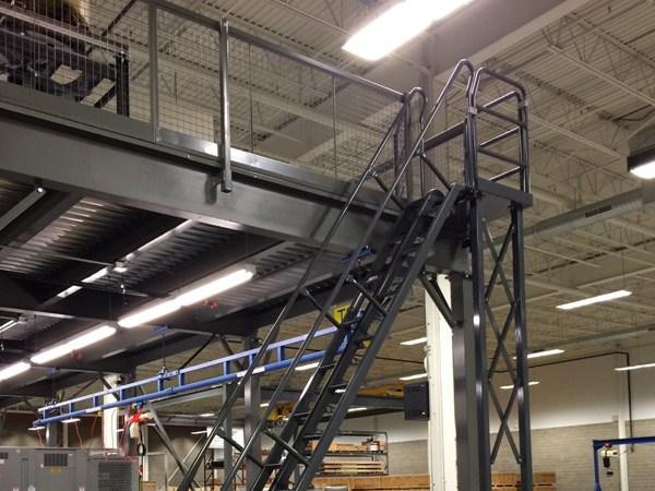 Warehouse Mezzanines Pittsburgh