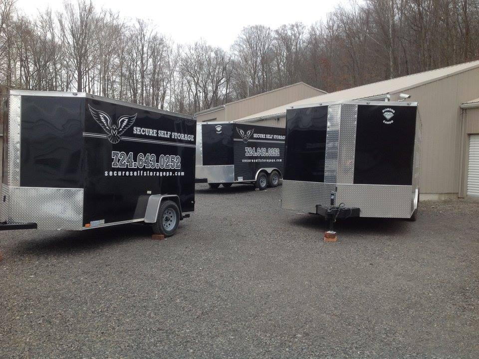 10-20 ft Storage Trailers Pittsburgh