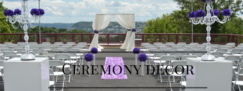 Ceremony Decor Pittsburgh