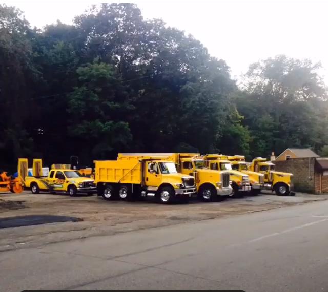 Paving Trucks Pittsburgh