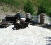 Finished Outdoor Patio