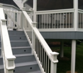 Finished Deck with Stairs