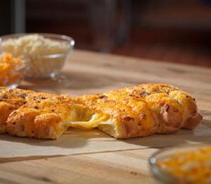 Stuffed Cheesy Bread