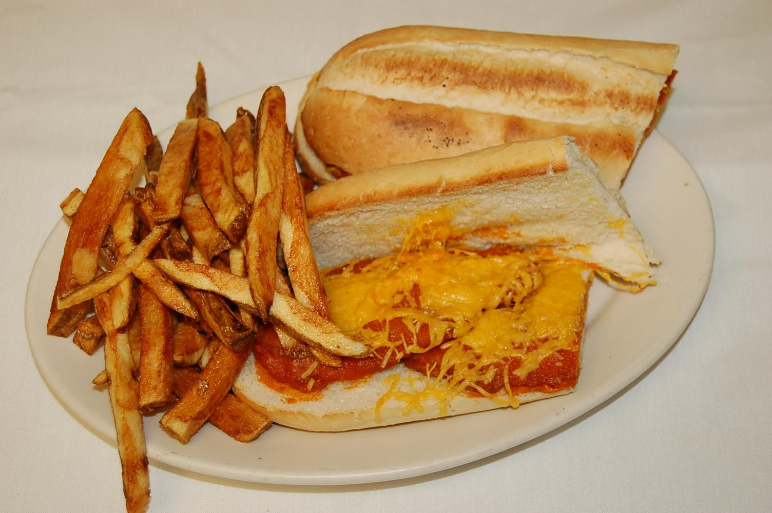 Buffalo Chicken Hoagie